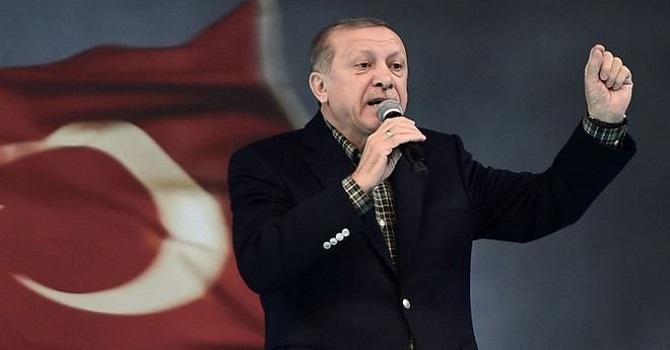 Erdoğan: Ben istesem Almanya'ya gelirim