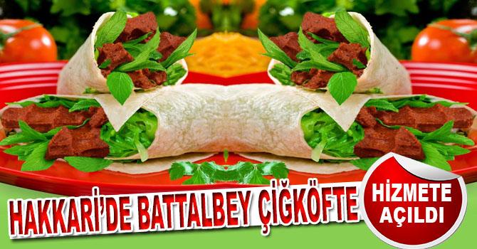 Battalbey Çiğköfte Hakkari'de Açıldı