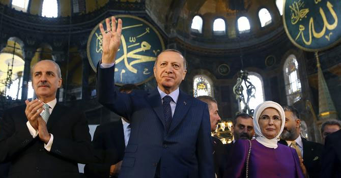 Erdoğan Ayasofya'yı ibadete açan kararı imzaladı
