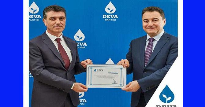 DEVA Partisi Hakkari İl Başkanı belli oldu