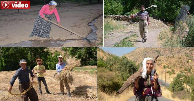 25 yıl sonra döndükleri köylerinde toprağa hayat veriyorlar