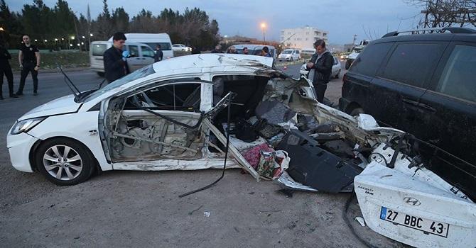 Silopi'de feci kaza: 2 ölü, 4 yaralı