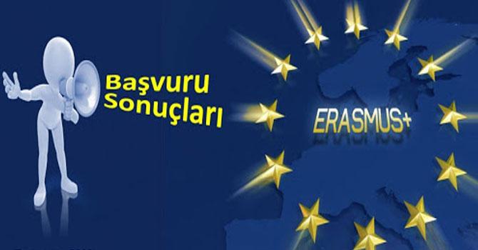 Erasmus+ projeleri başvuru sonuçları açıklandı