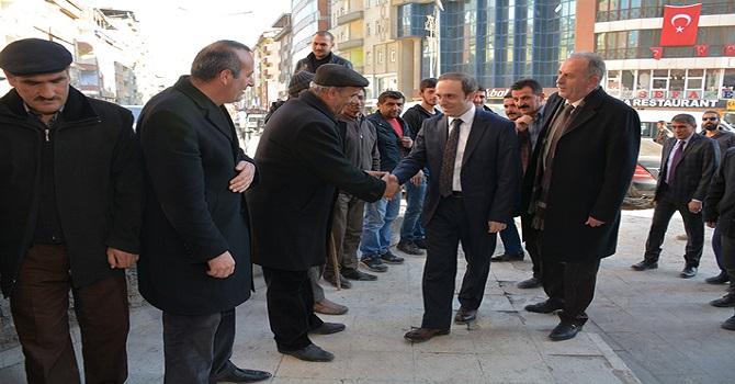 Hakkari Belediye Başkan vekili Epcim Esnafları Ziyaret Etti