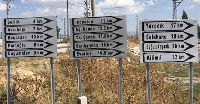 Kürtçe mahalle isimleri yazan tabelalar söküldü