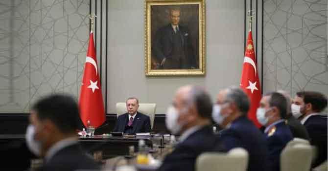 MGK'dan Doğu Akdeniz mesajı: 'Türkiye haklarından taviz vermeyecek'