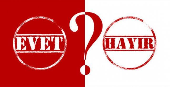 'Evet mi önde Hayır mı?' İşte son referandum anketinden çıkan çarpıcı sonuç
