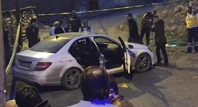 Ankara'da kalaşnikofla otomobile saldırı: 2 ölü