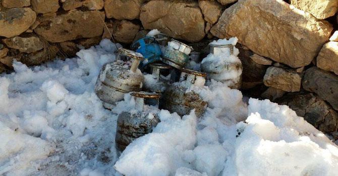 Hakkari'de el yapımı patlayıcı (EYP) ele geçirildi