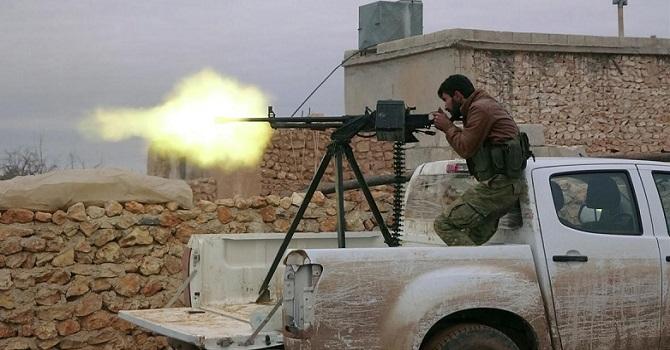 El Bab'da ÖSO alanına bombalı saldırı: 12 ölü, 30 yaralı
