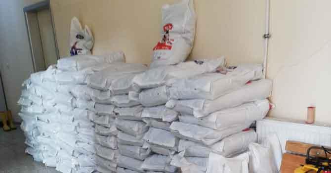 HAYTAP' tan Hakkari'ye 1,5 ton mama bağışı