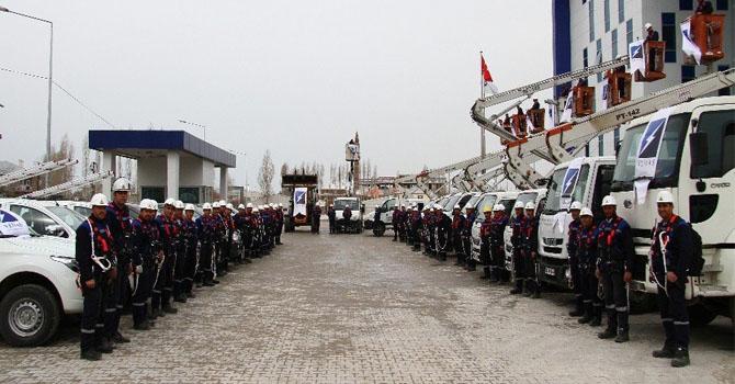 VEDAŞ, Hakkari ve birçok ilde personel ve araç sayısını arttırdı