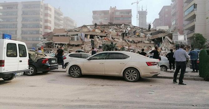 İzmir'de AFAD'ın ilk tespitleri: Dört ölü, 120 yaralı