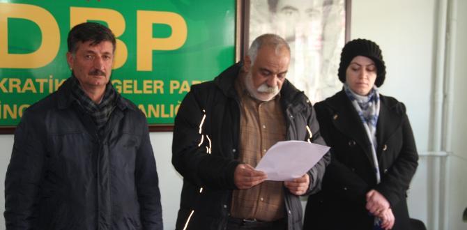 DBP il Eşbaşkanı Yavuz Kıtay gözaltına alındı