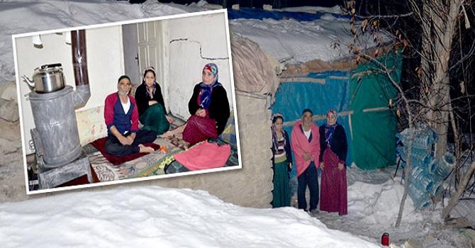 Yüksekova'da Alkan ailesi çok zor günler geçiriyor