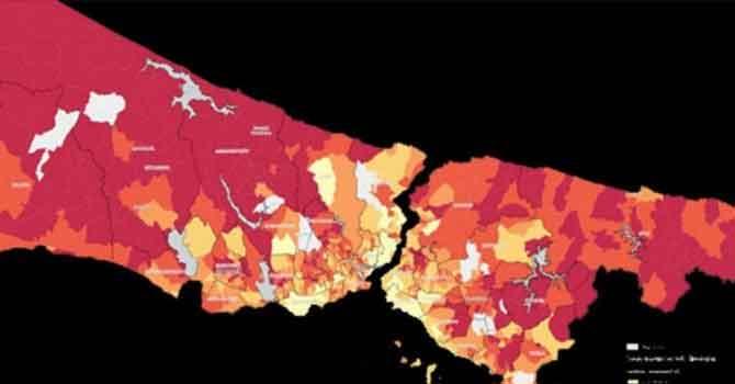 İBB koronavirüs için en riskli 40 mahalleyi açıkladı