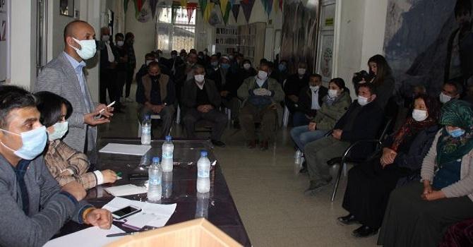 HDP Hakkari'de Halk Toplantısı Düzenledi