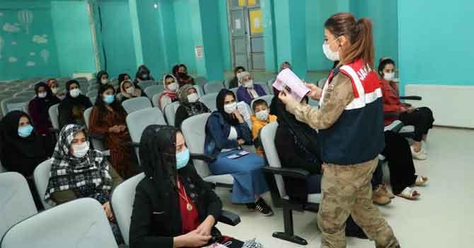 Jandarmadan Çukurcalı kadınlara eğitim!