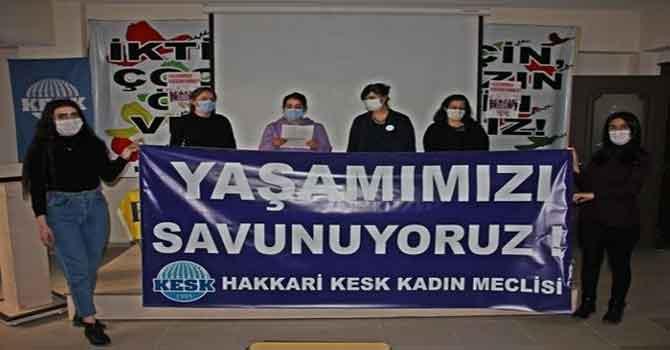 KESK Kadın Meclisinden 25 Kasım açıklaması