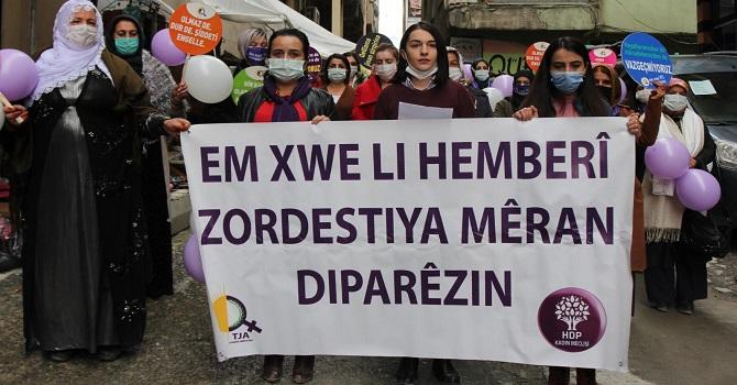 HDP Hakkari Kadın Meclisinden 25 Kasım Açıklaması