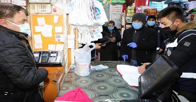 Hakkari'de Koronavirüs denetimi