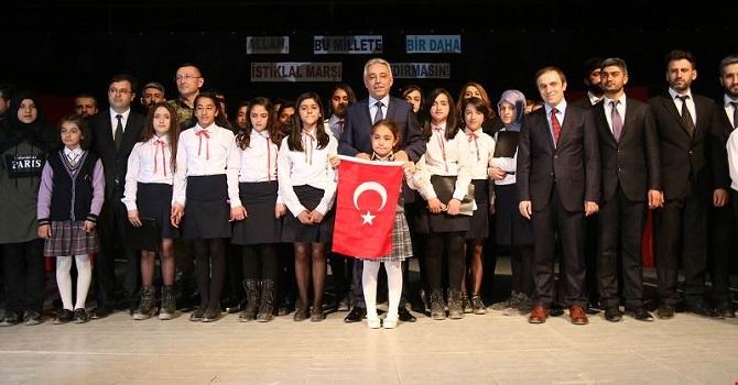 Hakkari'de İstiklal Marşı'nın Kabulü Ve Mehmet Akif Ersoy'u Anma Günü