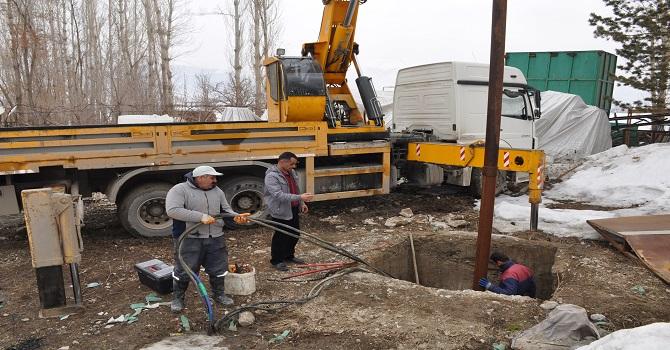 Arızalanan Sondajın onarım çalışması başlatıldı