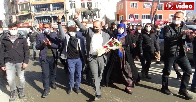Hakkari eski Belediye eş başkanı Karaman Hakkari'ye geldi