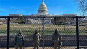"""ABD'nin başkenti Washington DC'de 24 Ocak'a kadar """"acil durum"""" ilan edildi"""
