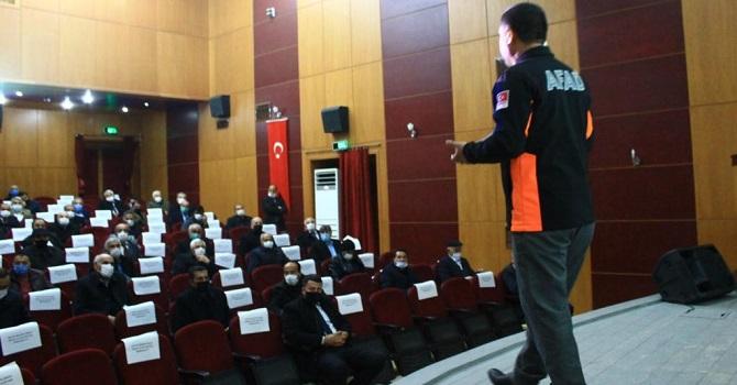 Hakkari AFAD' tan farkındalık eğitimi