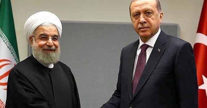 Erdoğan Ruhani ile telefonda görüştü