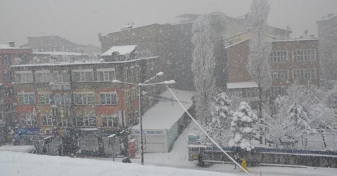 Hakkari'de Mart Ayında Kar Yağışı Etkili Oldu