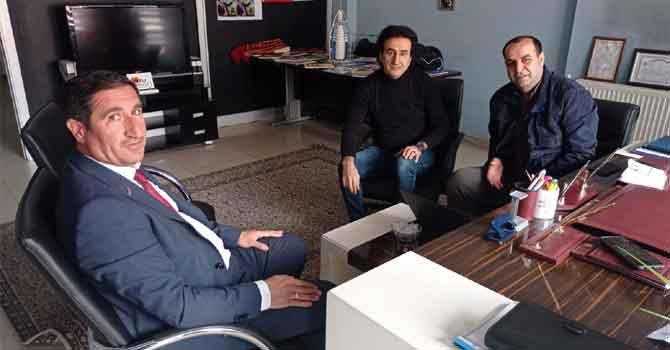 AFAD İl Müdürü Karadeniz'den HGC'ye ziyaret