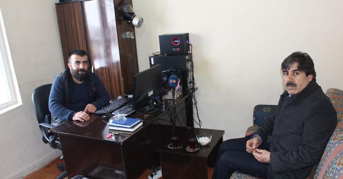 Ak Parti il Başkanı Nurettin Fırat'tan Haber merkezimize ziyaret