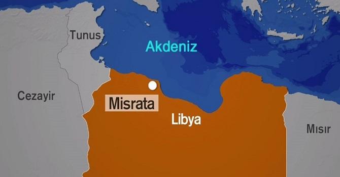 Libya'da Türk gemisi battı: 7 mürettebat kayıp