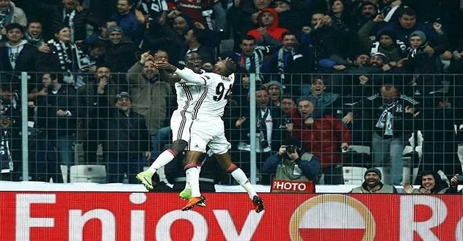 Beşiktaş, UEFA Avrupa Ligi'nde adını çeyrek finale yazdırdı