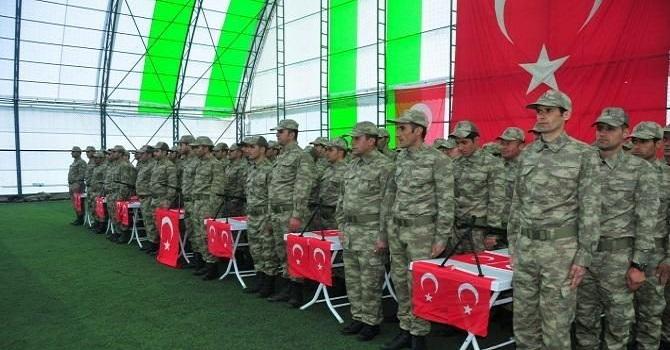 Şemdinli'de 174 Korucu Kürtçe Yemin ederek Göreve Başladı