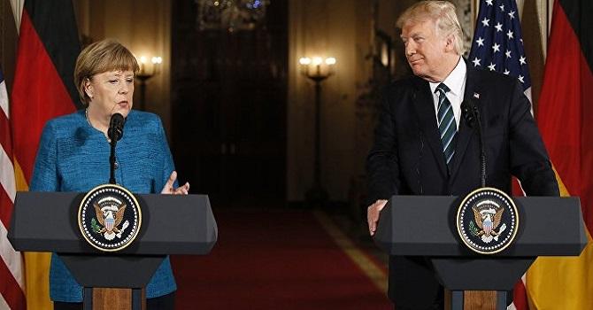 Trump Almanya'dan 'savunma' parasını istedi