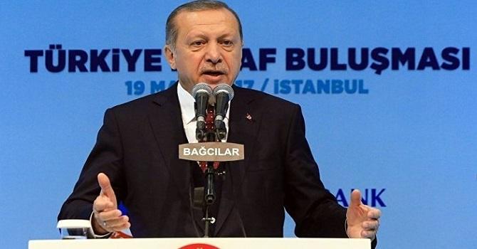 Erdoğan'dan servisçilere tepki: Size söz vermedim
