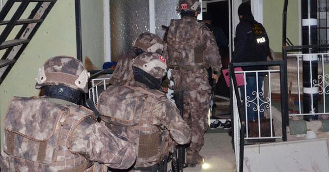 500 polisle uyuşturucu operasyonu
