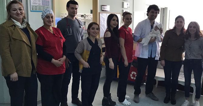 Hakkari Devlet Hastanesinde bir ilk daha yaşandı