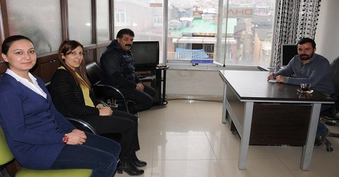 VEDAŞ Müdürü Özdemir'den DHA'ya ziyaret