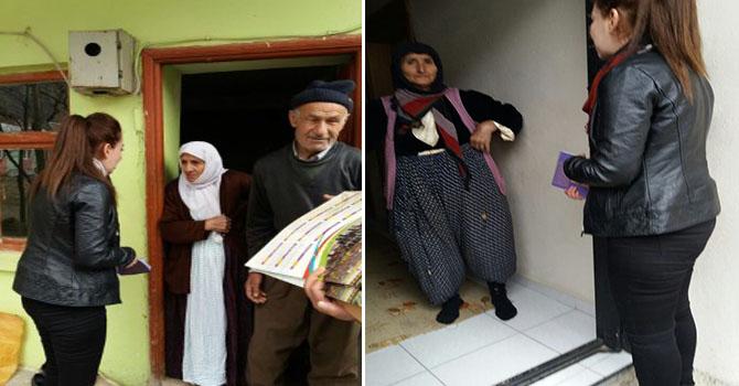 HDP'nin Hakkari'de 'Referandum' çalışmaları devam ediyor