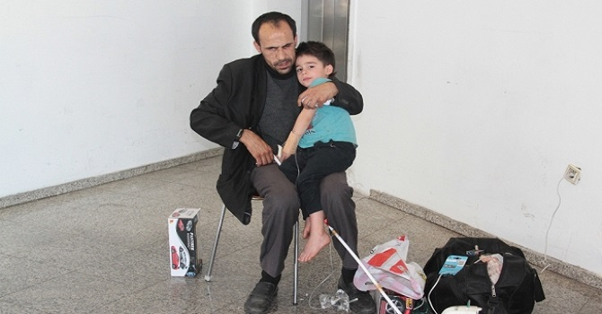 Görme Engelli Babanın Göz Yaşartan Fedakarlığı