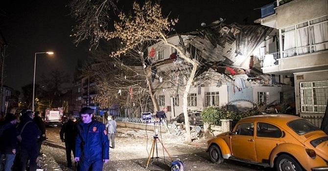 Ankara'da Patlama: 3 Yaralı