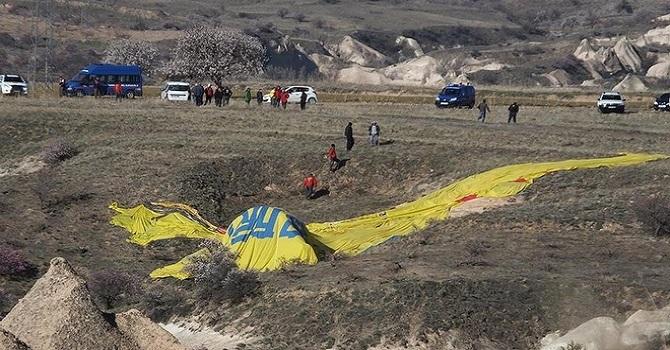 Kapadokya'da yine balon faciası: 1 ölü, 20 yaralı