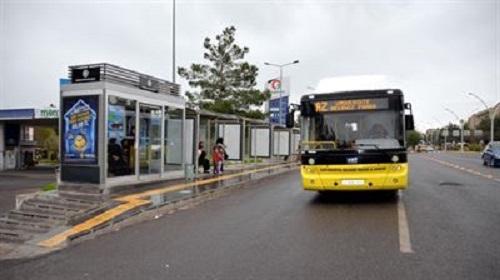 Diyarbakır'da Klimali Otobüs Durakları Hizmete Girdi