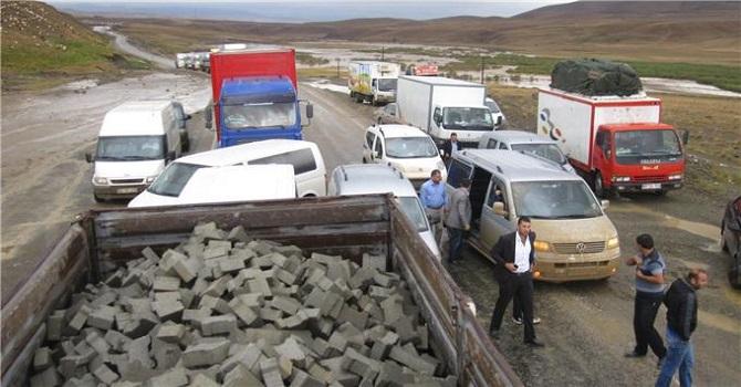 Van Depreminde firar eden şahıs Hakkari-Van karayolunda yakalandı