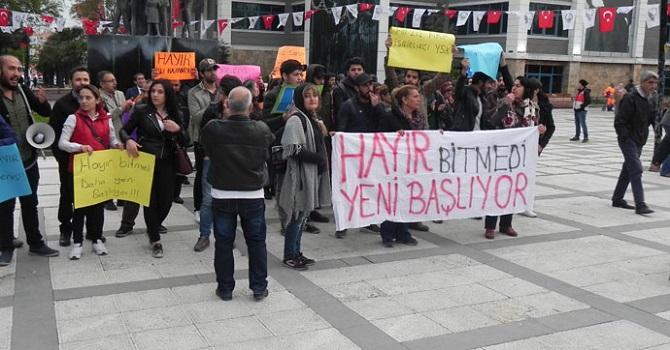 Avcılar'daki YSK protestosu 5'inci gününde