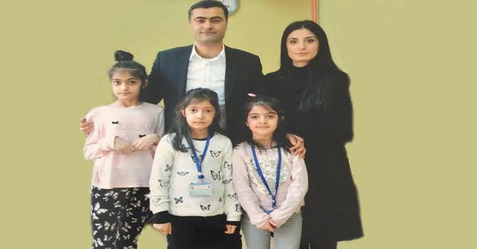HDP Hakkari Milletvekili Abdullah Zeydan ailesiyle görüştü